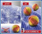 Wenko Kule do prania JUMBO XL - Antykłaczki, 3 sztuki w komplecie 1C8