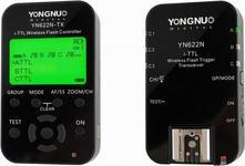YongNuo YN-622N-KIT LCD wyzwalacz radiowy do lamp błyskowych w systemie Nikon i-