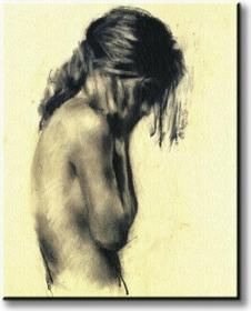 Girl - Obraz na płótnie