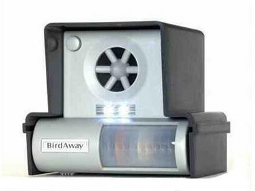 Profesjonalny ultradźwiękowy odstraszacz (działa m.in. na gołębie, szpaki