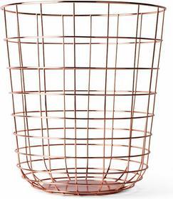 Menu kosz na śmieci druciany Wire Bin copper