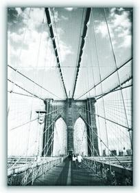 Brooklyn Bridge, New York - Obraz na płótnie