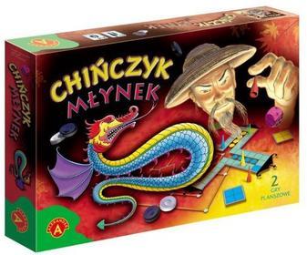 Alexander Chińczyk i młynek zestaw 2 gier