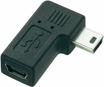 Adapter kątowy mini USB pod kątem prostym USB 2.0