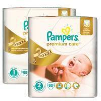 Pampers Premium Care 1 Newborn + 2 Mini