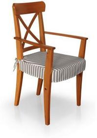 Dekoria Siedzisko na krzesło Ingolf z podłokietnikami 136-06, krzesło Ingolf