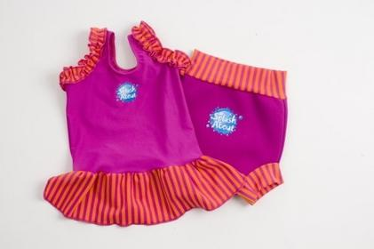 Splash About Frou Frou - góra od kostiumu kąpielowego, różowa