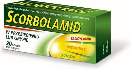 Polpharma Scorbolamid 20 szt.