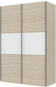 Tvilum Szafa SAVE 150 przesuwne drzwi - dąb - dąb - biały