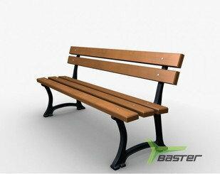 Ławka Miejska gruba Baster BASLO0116