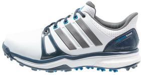adidas Golf ADIPOWER BOOST 2 WD Obuwie do golfa white/mineral blue/shock blue Q44665