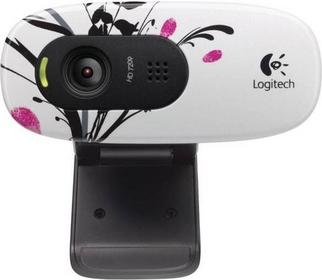 Logitech C270 Fingerprint flowers