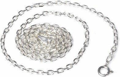 AnKa Biżuteria Łańcuszek srebrny Anker diamentowany 0,25 - Delikatny łańcuszek d