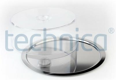 Taca do serwowania z pokrywą O 380x100 mm, okrągła | APS, Finesse 13382
