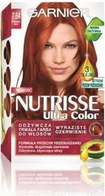 Garnier Nutrisse Ultra Color 7.64 Czerwona Miedź