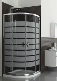 Aquaform Lazuro 80x80 profil chrom szkło brick 100-06566