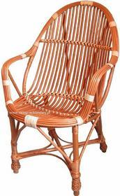 Fotel wiklinowy 01
