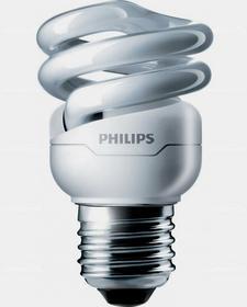 Philips Tornado spiral 8W WW E27 220-240V 8718291117087