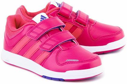 Adidas Lk Trainer - Różowe Ekoskórzane Półbuty Dziecięce - B23920
