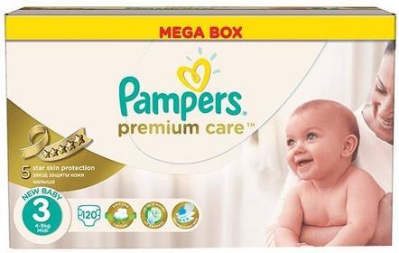Pampers Premium Care 3 Midi 4-9kg 120 szt. 0214921