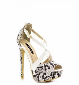 Białe sandały White Sandals Odile biały
