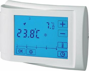 Conrad Regulator temperatury / termostat pokojowy RT Top z dotykowym wyświetlacz