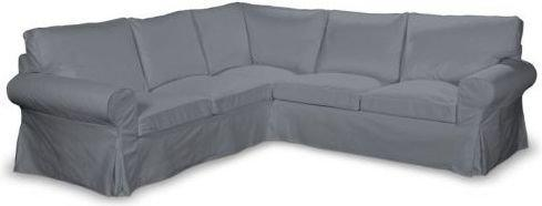 Dekoria Pokrowiec na sofę Ektorp narożną Cotton Panama 702-07