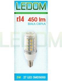 Ledom Żarówka LED E14 SMD5050 27 230V 5W 245176