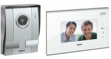 Legrand Zestaw wideodomofonowy 1-rodzinny z dotykowym aparatem głośnomówiącym 7&