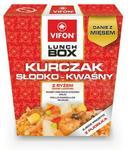 Tan Viet Lunch Box Danie błyskawiczne kurczak słodko-kwaśny z ryżem 177 g Vifon