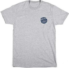 T-shirt BRIXTON - Roy Ii Heather Grey (0304) rozmiar: M