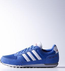 Adidas Neo City Racer F97872 biało-niebieski
