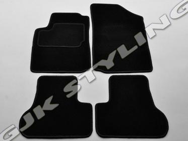 GJK Styling Dywaniki welurowe czarne standard Citroen C3 2002-2009 CITROEN C3 02