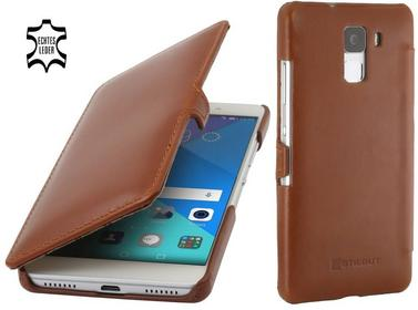 StilGut Etui UltraSlim Book Huawei Honor 7 Koniakowe Koniakowy