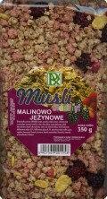 Radix-Bis Musli crunchy malina-jeżyna 350g - Radix