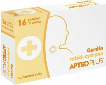 Synoptis Gardło miód-cytryna APTEO PLUS 16 szt.