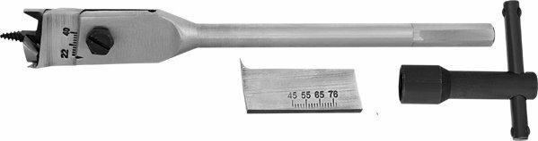 Graphite Wiertło łopatkowe do drewna regulowane 22-76mm 57H248
