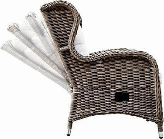 Miloo :: Fotel z regulacją oparcia Bilbao