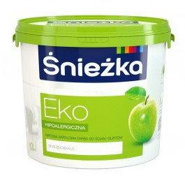 Śnieżka Eko Farba emulsyjna 10L Biała