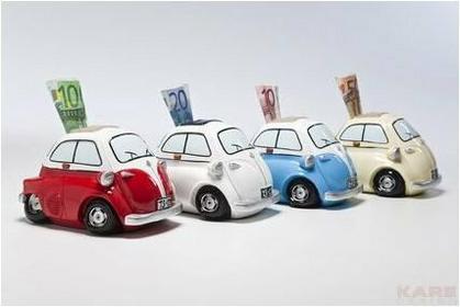 Kare Design Skarbonka Box Drive To Italy,