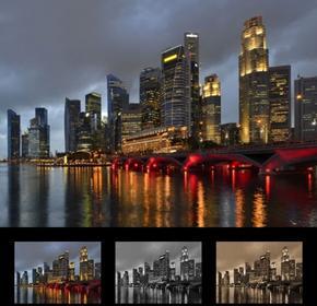 Wally Obraz Singapur 151