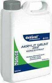 AKRYLIT 3000 Grunt koncentrat Dekoral Professional 5L