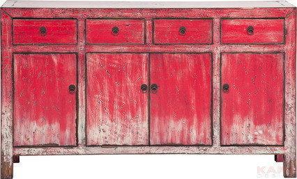 Kare Design Kredens Bloody Mary (4 szafki, 4 szuflady) 78676