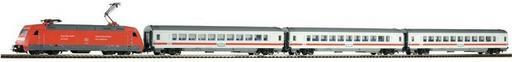Piko H0 Zestaw startowy H0 59100 lokomotywa BR 101 3 wagony osobowe tory skala H0