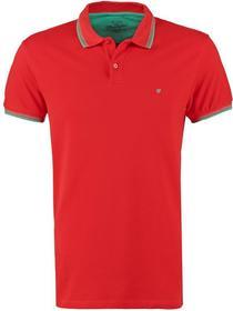 Wrangler polo Koszulka fiery red W7862KWBP
