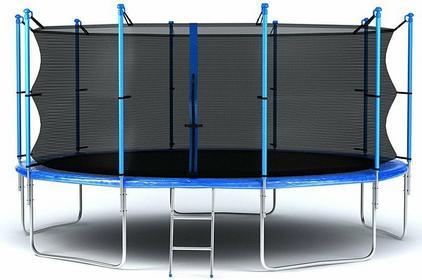 Hop-Sport Trampolina ogrodowa z siatką wewnętrzną 366 cm