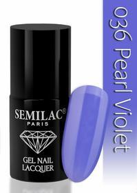 Semilac Lakier hybrydowy 036 Pearl Violet