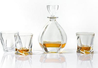 Bohemia Zestaw do whisky Laguna Crystalite