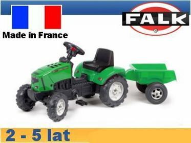 Falk Traktor Lander z przyczepą zielony FA2031AC