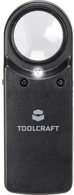 Toolcraft Lupa LED 1303081 10 x 27 mm